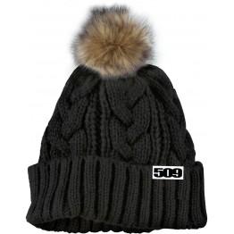 Шапка Black Fur Pom
