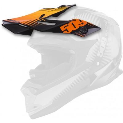 Козырек к шлему 509 CARBON - White Trace (2016)