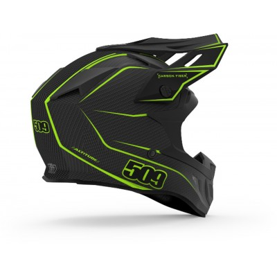 Шлем карбоновый 509 Altitude Carbon Lime