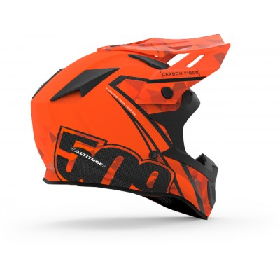 Шлем карбоновый 509 Altitude Carbon Orange