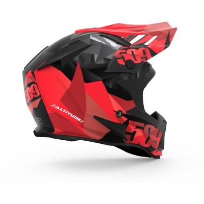 Шлем 509 ALTITUDE Red Triangles