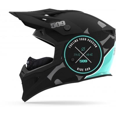 Шлем 509 Tactical Black Teal