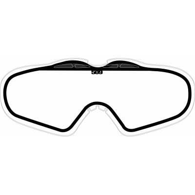 Линзы детские 509 SINISTER X5 - Clear Lens