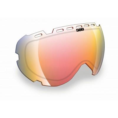Линза для очков 509 Aviator - Fire Mirror/Clear