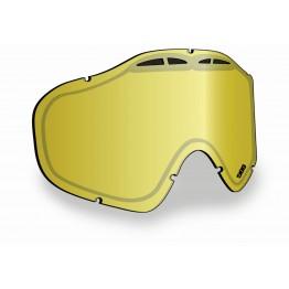 Линза SINISTER X5 - Gold Mirror/Yellow