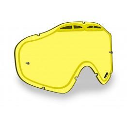 Линза SINISTER X5 с креплениями для отрывных плёнок – Yellow