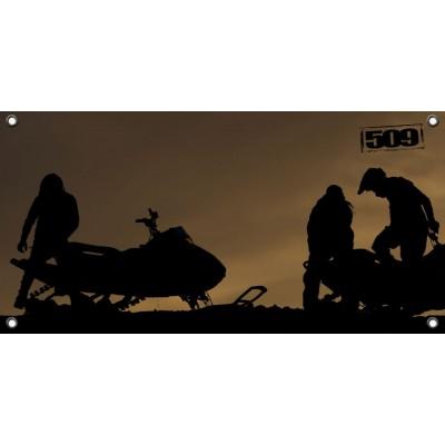 Баннер 509  – 4x2 – Silhouette