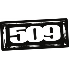 "Комплект наклеек 509 Logo – 12"" (10 шт)"