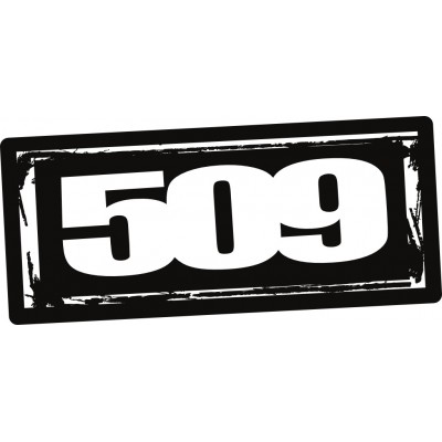 "Комплект наклеек 509 Logo – 6"" (10 шт)"